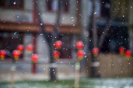 喜庆之雪图片