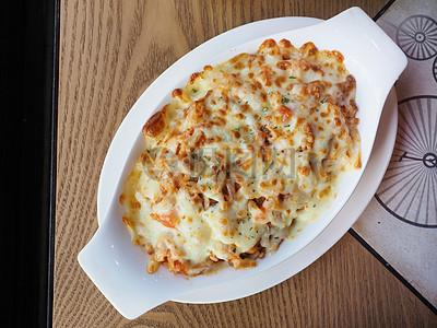 韩式泡菜焗饭图片