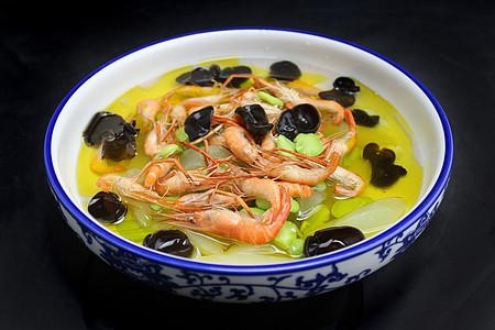 河虾豆瓣老黄瓜汤图片