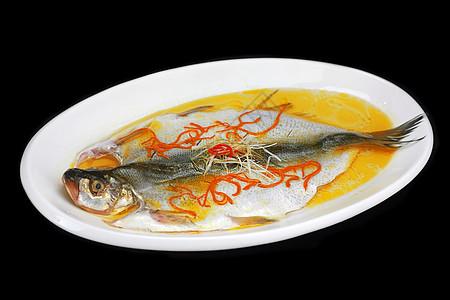 虫草花金汤大白鱼图片