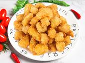 鸡米花炒年糕条图片