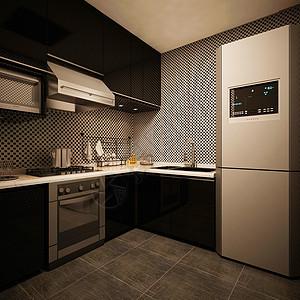 后现代主义的厨房效果图图片