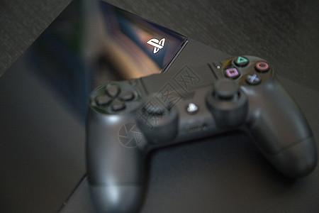 PS4主机手柄图片