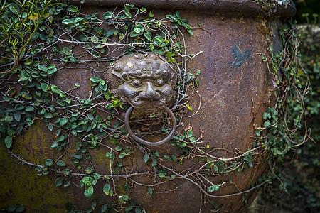 铜器狮子头图片