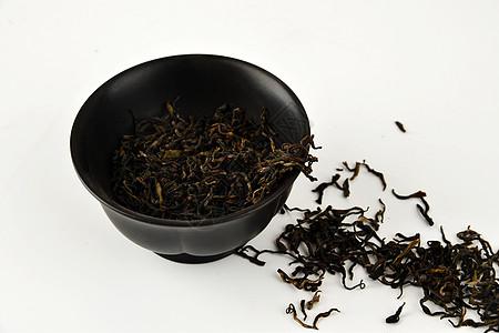 茶叶和磨砂杯子图片