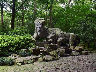 杭州虎跑旅游圣地图片