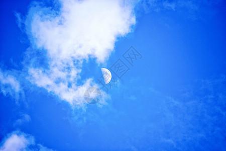 初升的月亮图片