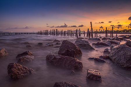 夕阳红海峡图片