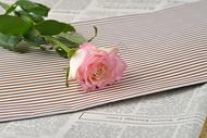 淡粉色玫瑰七夕背景图片