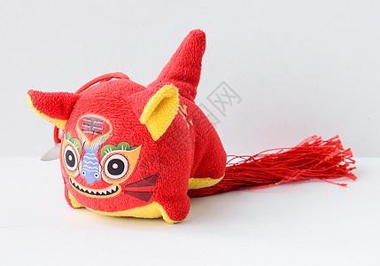 中国传统玩具布老虎图片