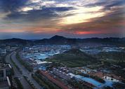 夕阳云彩图片