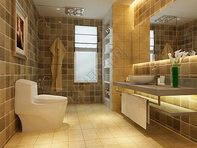 高清卫生间效果图图片
