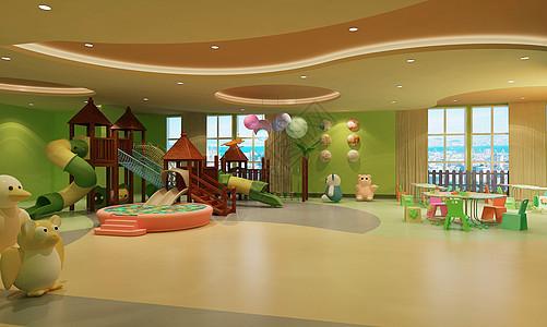 幼儿园的游乐场地图片