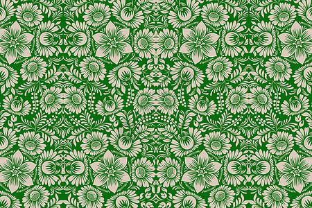 墨绿色各种花图案图片