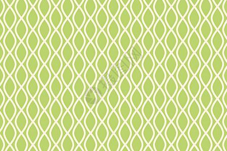 淡黄色鱼纹几何图案图片