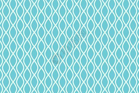 淡蓝色鱼纹几何图案图片