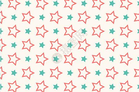 粉色五角星布纹墙纸花色图片