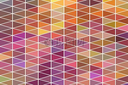 三角形彩色玻璃材质图案图片