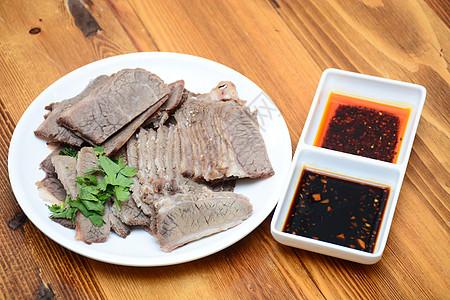 拌牛肉图片