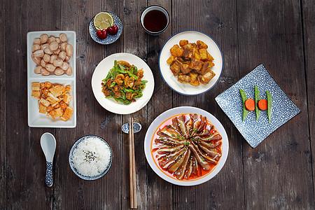 中式套餐图片