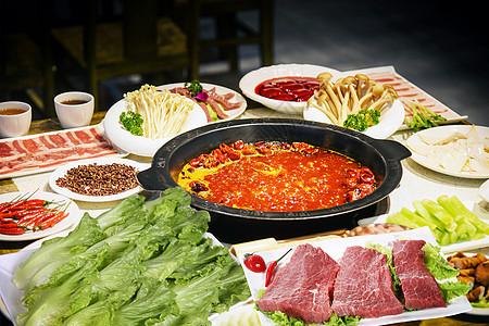 火锅套餐图片