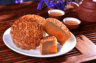中秋节月饼图片
