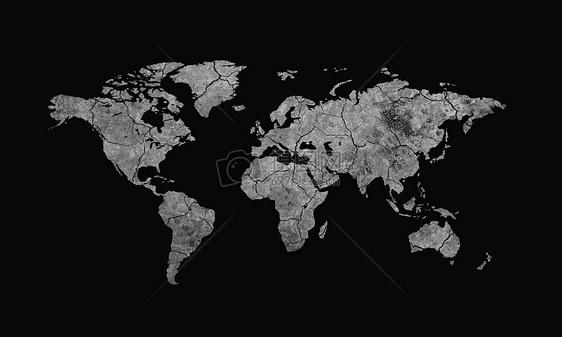地球在干枯图片
