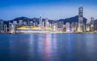 夜幕下的香港500082828图片
