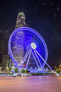 香港摩天轮图片