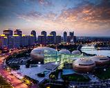 郑州CBD   河南艺术中心   千禧广场  如意湖图片