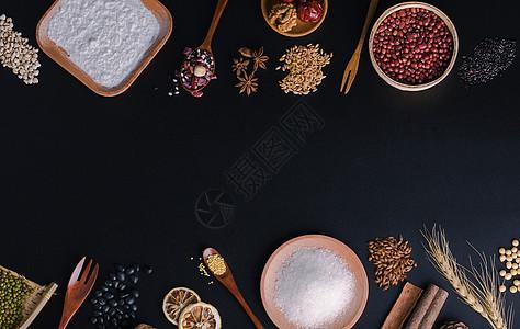 五谷杂粮背景图图片