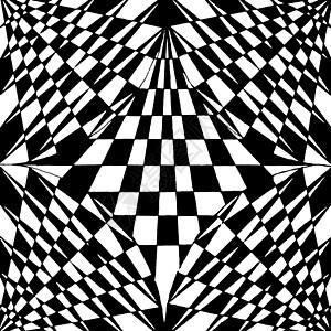 黑白的渐变构成作品高清图片