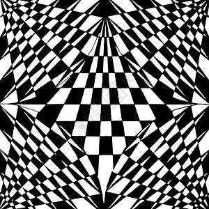 黑白的渐变构成作品图片