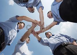 企业团队鼓舞士气图片