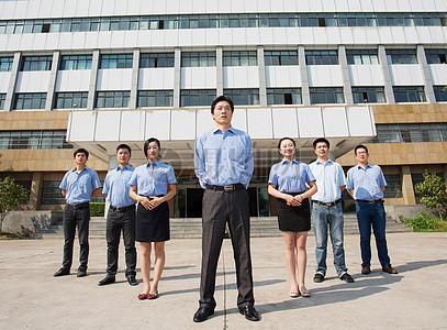中国企业商务团队企业文化图片