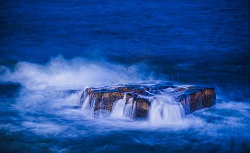 东极岛长曝光图片