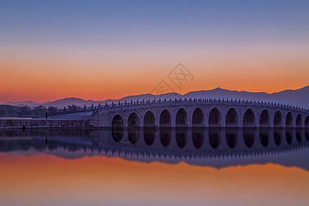 颐和园 十七孔桥图片