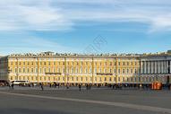 俄罗斯圣彼得堡冬宫外景图片