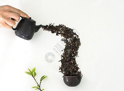 茶叶的创意拍摄图片