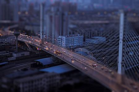 城市斜拉桥图片