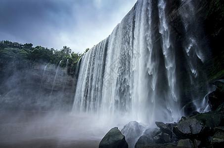 万州大瀑布图片