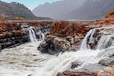 黄河 壶口瀑布图片
