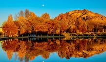 西藏寒秋图片