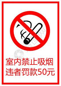 禁止吸烟的指示牌图片