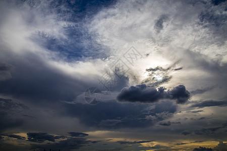 乌云蔽日图片