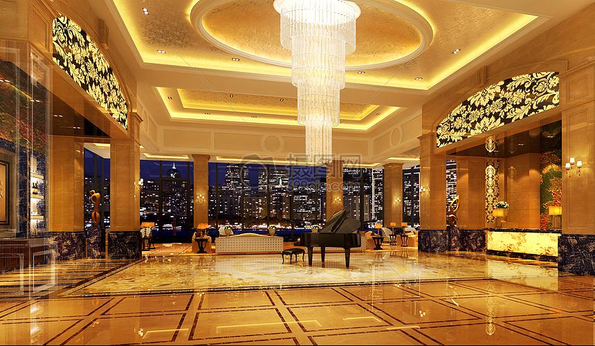 唯美图片 背景素材 豪华的售楼处大厅效果图jpg  分享: qq好友 微信