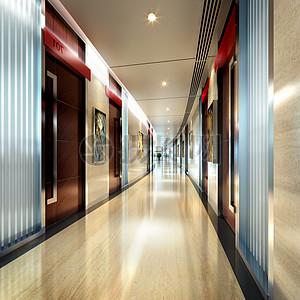现代办公楼效果图图片