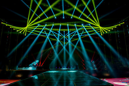 舞台灯光效果图图片