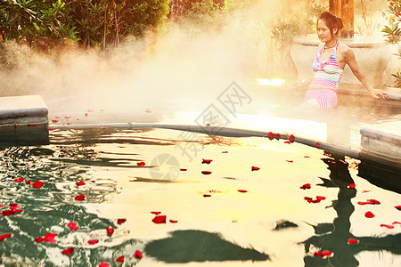 玫瑰浴图片