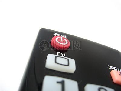 电视机遥控器电源键图片